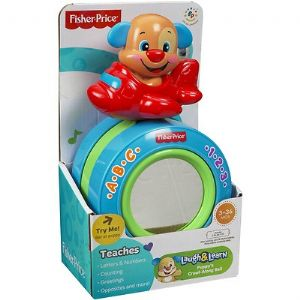 Fisher Price Laugh Amp Learn Puppy S Crawl Along Ball